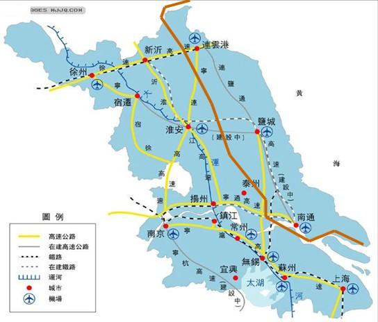 南通市位於长江入海口北岸,是江苏唯一有江有海的城市,东临黄海,南依